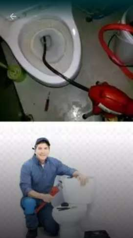 Ucok. Wc tumpat Sedot saluran air sumbat.Genteng bocor pasang pipa