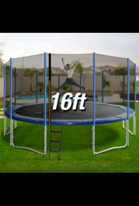 16Ft Trampoline with safety Net