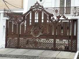 Nerimah pembuatan pagar tempa brkuwalitas desien terbaik@2799