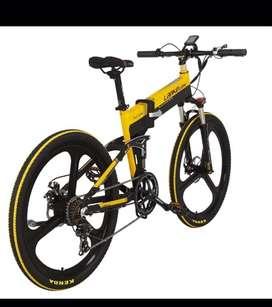 Sepeda lipat listrik PREMIUM khusus orang kaya