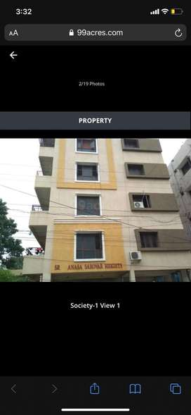 2bhk for sale in bowenpally