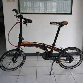 SEPEDA LIPAT TERN P20 Upgrade - P 20 - Seli - Folding Bike - 20 Inch