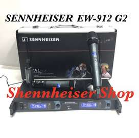 Mic Wireless SENNHEISER EW 912 G2 Microphone UHF With Hardcase