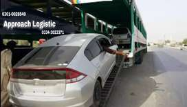 Approach logistic reliable car carrier and moving packing shifting