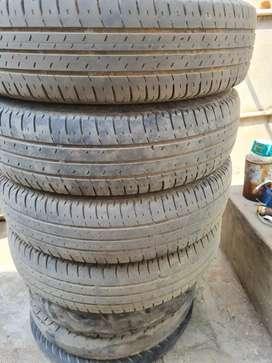 Swift Dzire/165/80/R14 Bridgestone 4 tyre