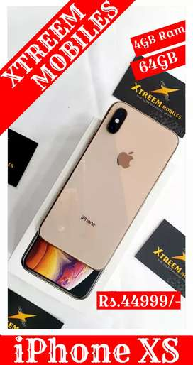 iPhone XS..4/64..100% Neat Condition..