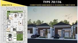 D Vista Residence Tegalsari Tipe 70