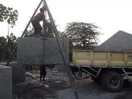 Tandon air beton sepitenk bus beton