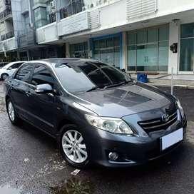 Toyota Corolla Altis 1.8 V AT Grey 2008 Siap pakai Stnk 1 Th