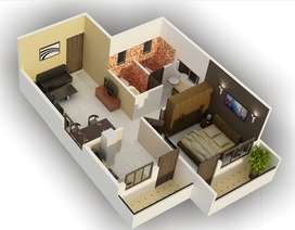 2 bed room flat for sale in Ds Max sarovar Attibele at Attibele circle