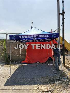 Gudangnya grosir Tenda lipat matic gazebo logo 0025