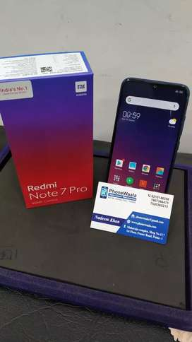 redmi note 7 pro (128gb) brand new condition