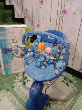 Baby bouncher lengkap mulus