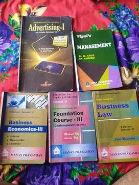 Sybcom SEM -3 &  SEM 4 books