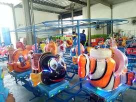 odong panggung ikan mainan labirin run DSY
