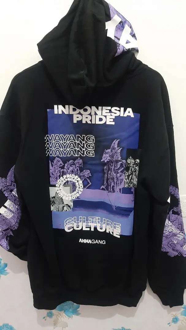 Jaket / Hoodie Ahha Wayang Original size XL Oversize