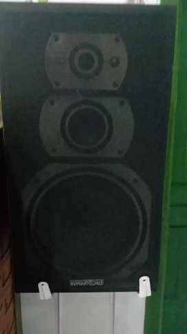 Speaker wharfedale laser & ampli yamaha