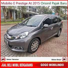 [Dp23jt] Mobilio E Prestige At 2015 Orisinil Pajak Baru Kredit Murah