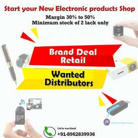 Start New Electronic Products Distribution Business in City-Margin 50%