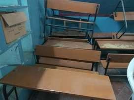 Desk and bench of kids