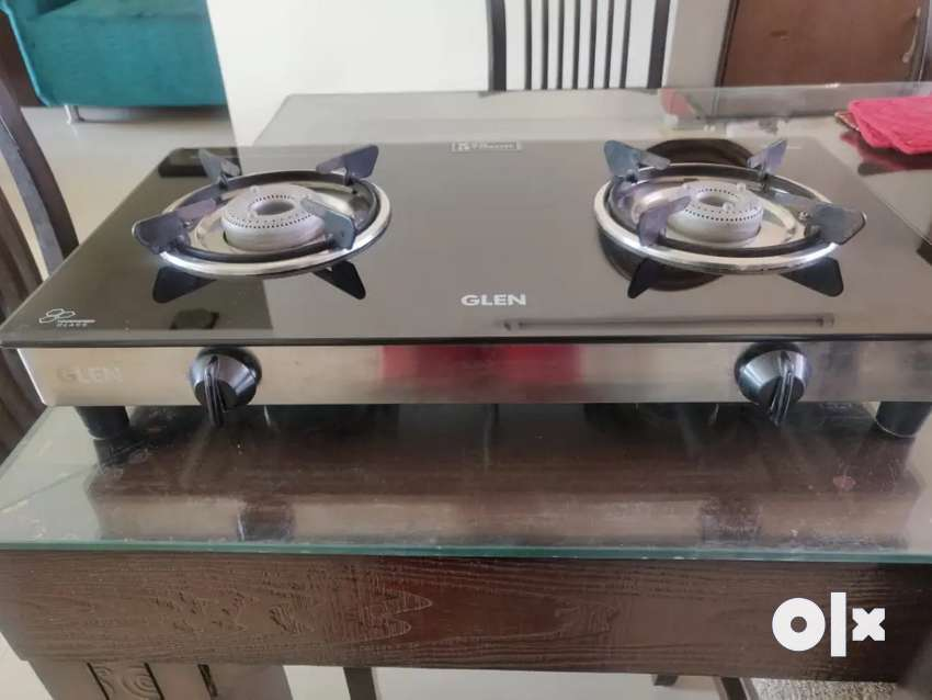 2 burner glass top cooking stove