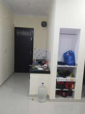 1 room  with attached letbath and small kitchen area balcony