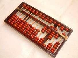 Abacus teacher