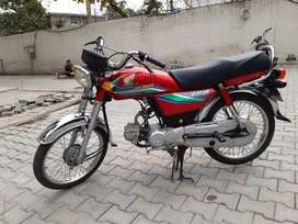 It got 4 stroke Engine , driven with care and it got a mileage of 10k