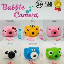 Mainan Bubble Camera