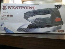 Westpoint iron model 672 warranty 2 years