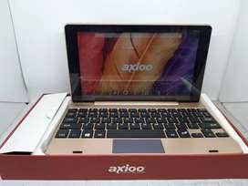 Axioo windroid 9G+ dual os windows dan android tablet dan laptop