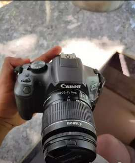 Canon camera 1300D good working good condition today