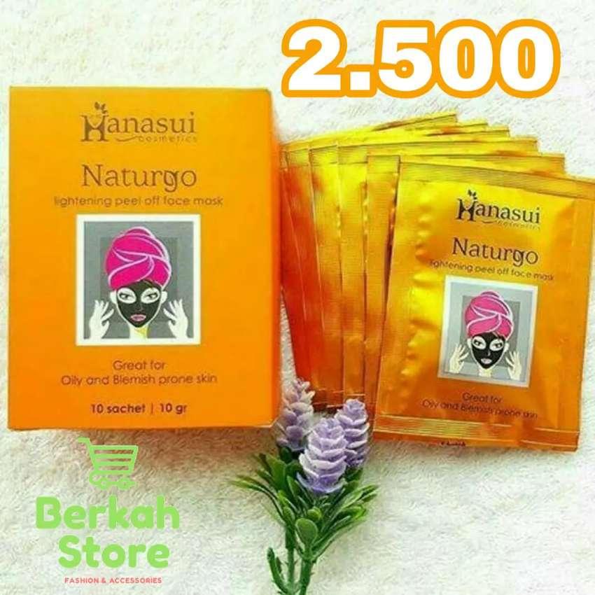 Hanasui Naturgo Mask (Masker Lumpur) ori 0