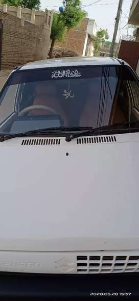 Good condition, chill AC, white clor ,minior touching