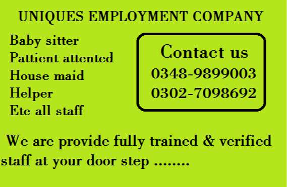 We Provide-HOUSEMAIDS, BABYSITTERS, NANNIES, etc All Domestic Staff 0