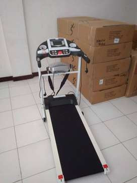 treadmil elektrik alat olahraga +getar perut