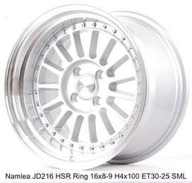 Velg Ayla tipe NAMLEA JD216 HSR R16X8/9 H4x100 ET30/25 SML
