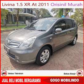 Nissan Livina 1.5 XR At 2011 Orisinil Kredit Murah
