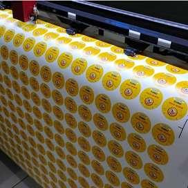 ahlinya sticker logo cutting label kemasan stiker kaca film sunblast