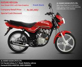 Suzuki GD110s (Brand New) Special Discount Offer