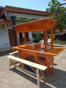 gerobak angkringan murah free ongkir cod 1200