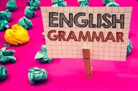 Online classes in English and English grammar