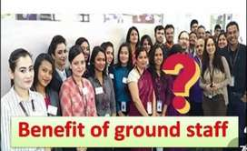 8-Hr Shift fixed salary Recruitment !!! Ground staff male & female