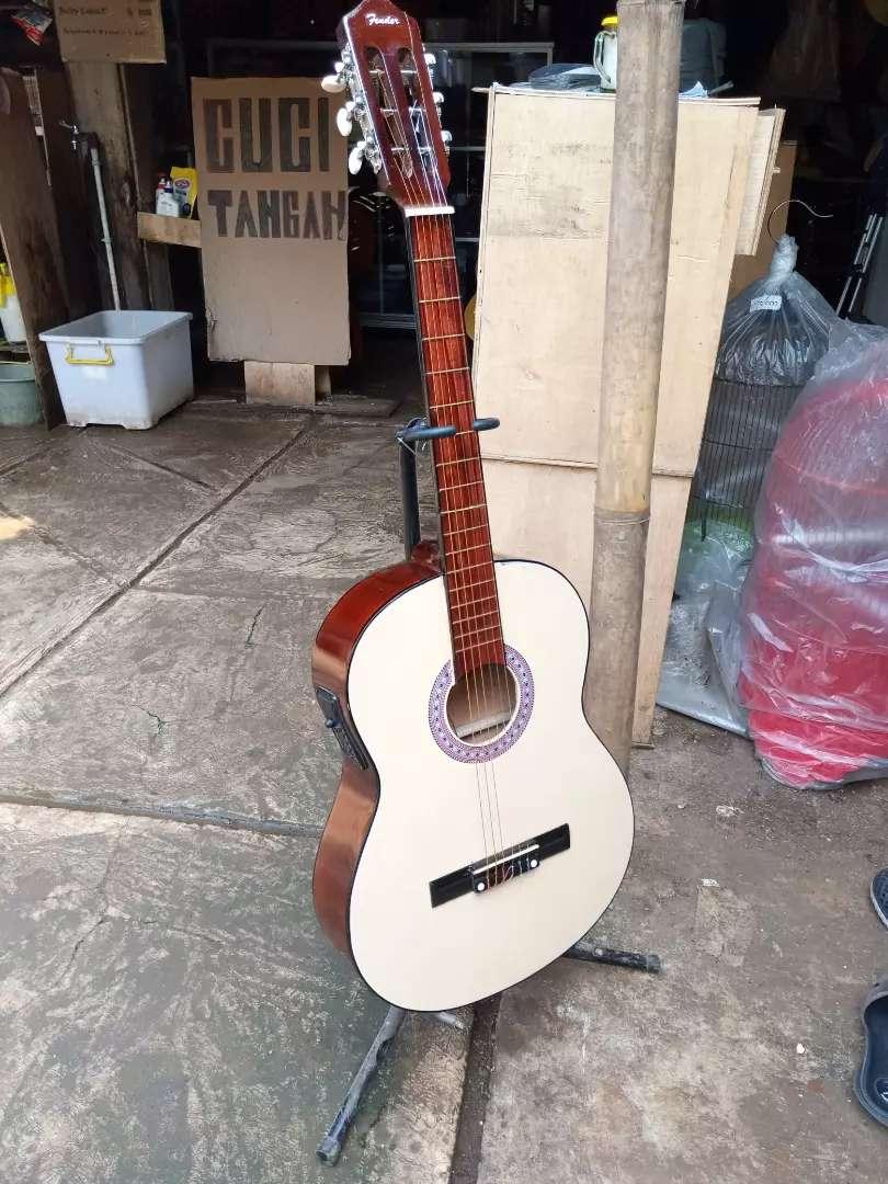 Gitar akustik elektrik baru pemula ne 0