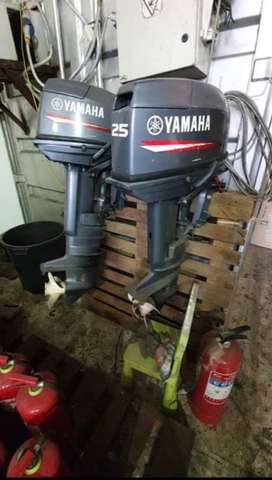 Yamaha mesin tempel outboard 25hp
