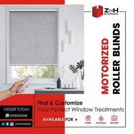 Roller Blinds - Heat Waves Protection Window Blinds