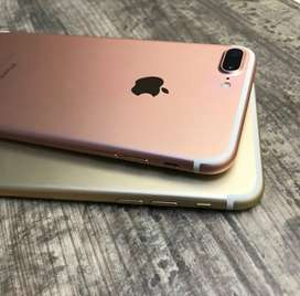 HURRY UP LIMITED STOCK AVAILABLE WITH WARRANTY IPHONE 7+