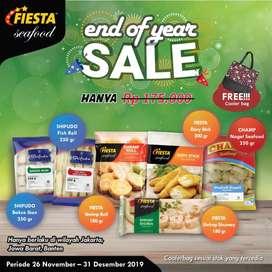 Fiesta Seafood Sale 26 November 2019 - 31 Desember 2019