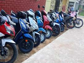 All 2nd hand scooty available hear.