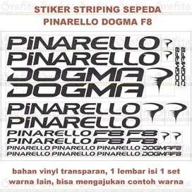 Stiker Striping Pinarello Dogma F8